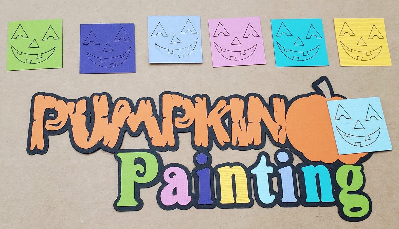 Pumpkin Painting Title