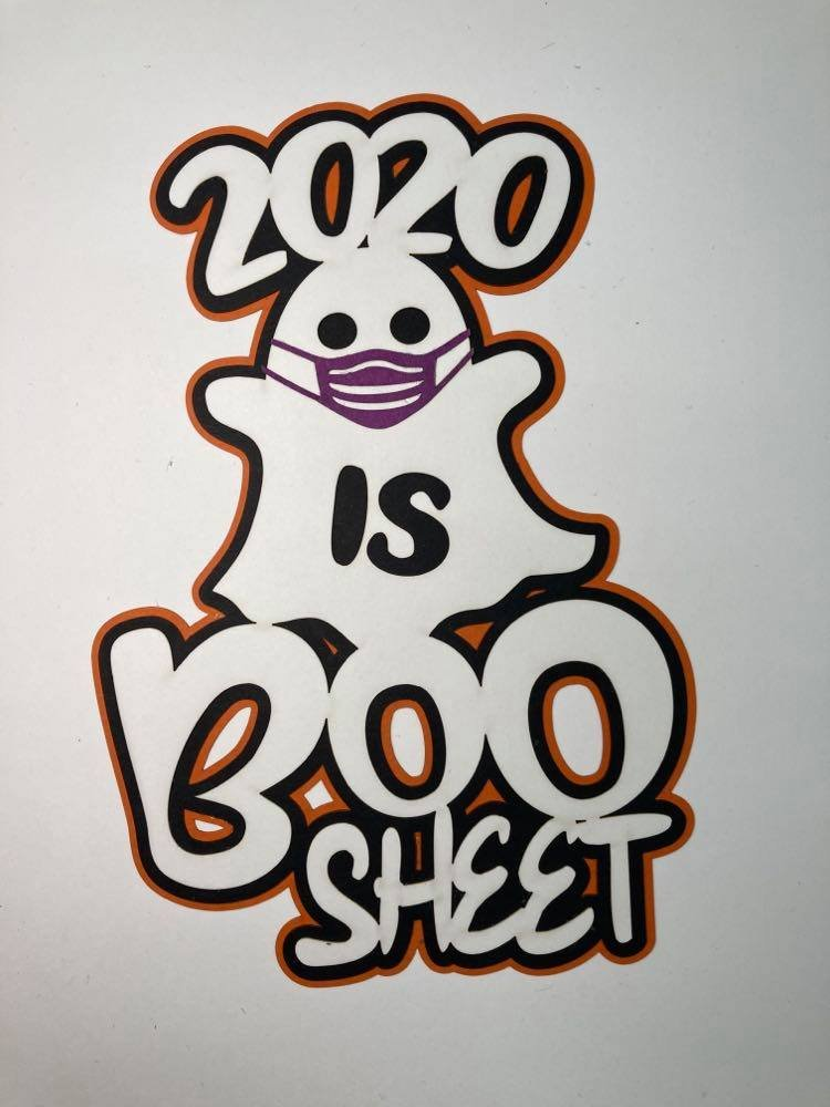 2020 is Boo Sheet Title