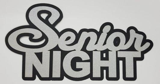Senior Night Title