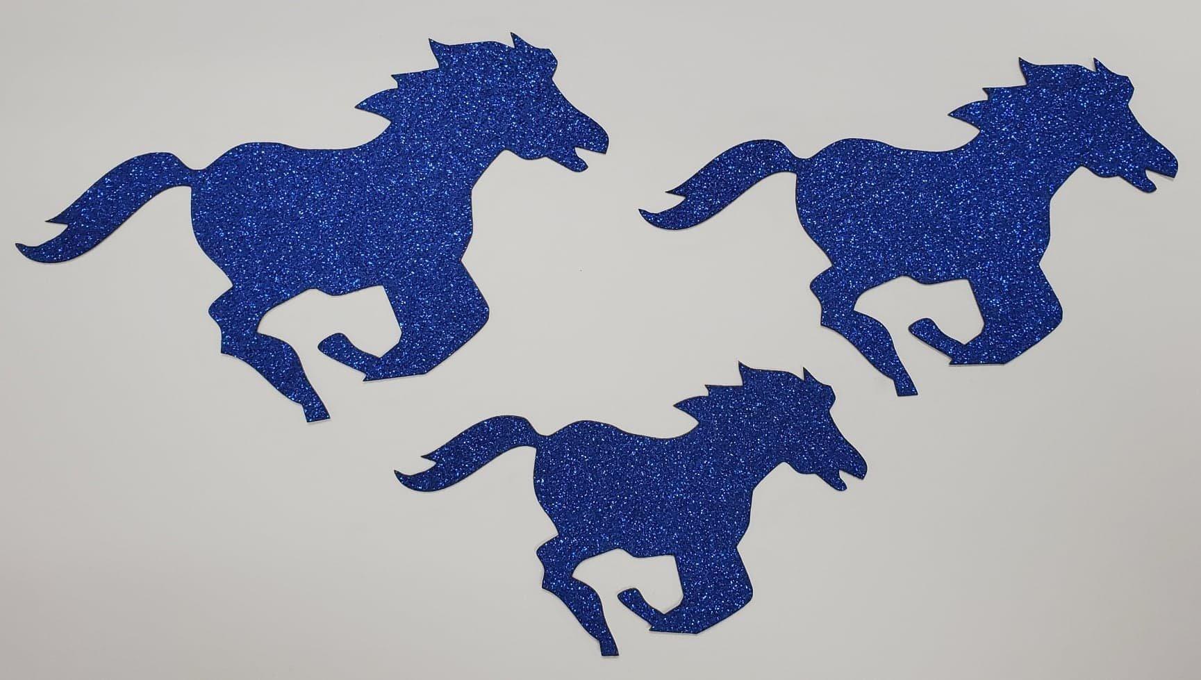Mustangs Glitter 3 Pack