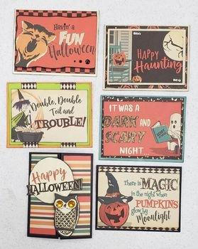Card Kit - Vintage Halloween - 6 Card Kit