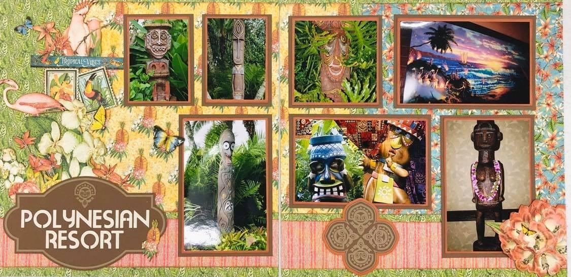 Hawaiian Resort Layout