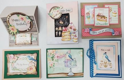 Card Kit - You're So Sweet Birthday - 6 Cards