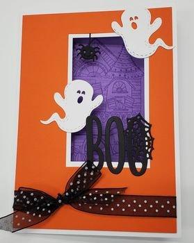 BOO Halloween Card - 1 card
