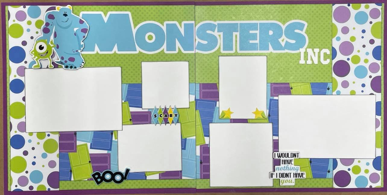 Monsters Layout