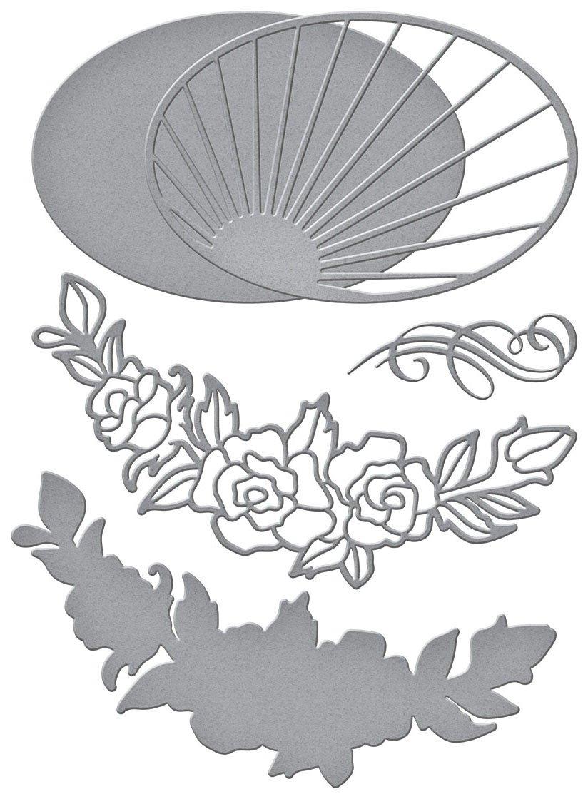 Spellbinders - Radiant Oval Dies