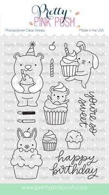 Cupcake Critters Stamp Set