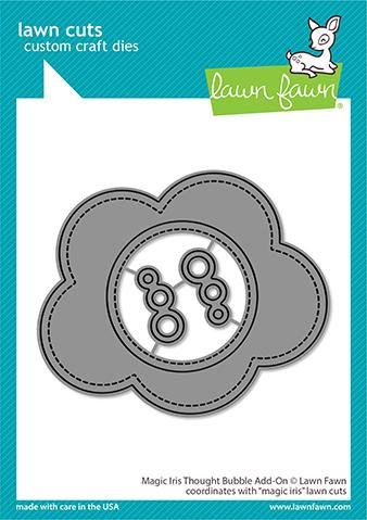 Lawn Fawn - Magic Iris Thought Bubbles Add-On