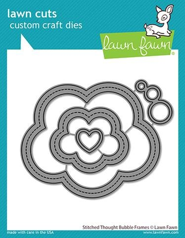 Lawn Fawn - Stitched Thought Bubble Frames Dies