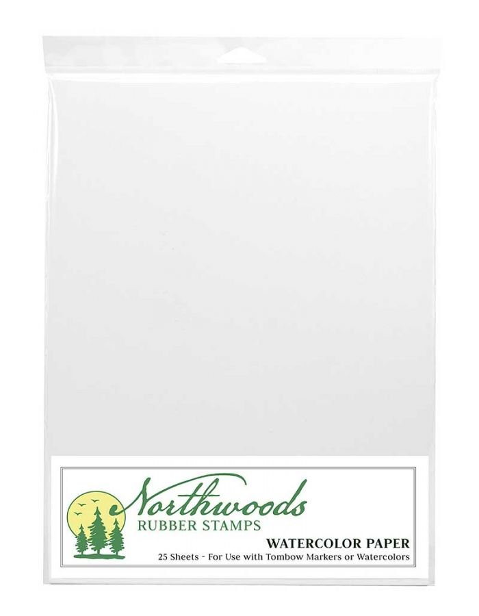 Northwoods Watercolor Paper 25 Sheets