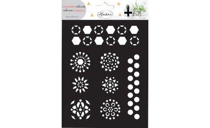 81132 Stencil Hexagones