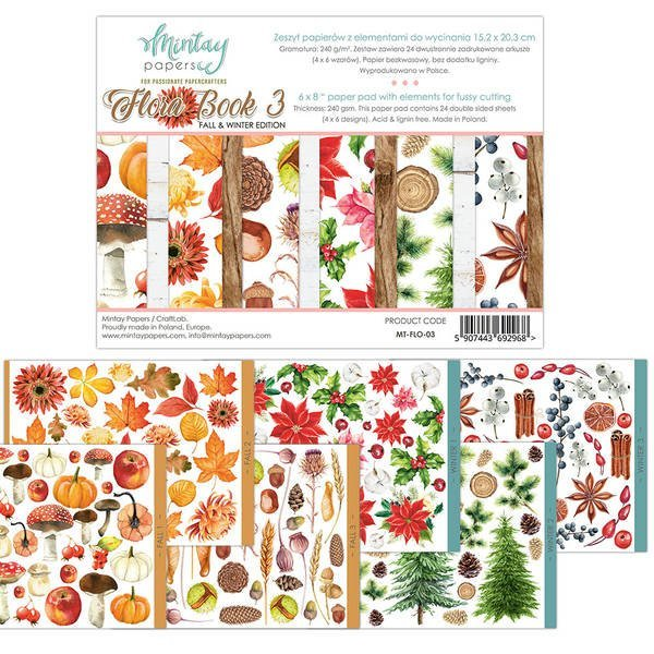 Mintay Flora Book 3 - Fall and Winter Edition