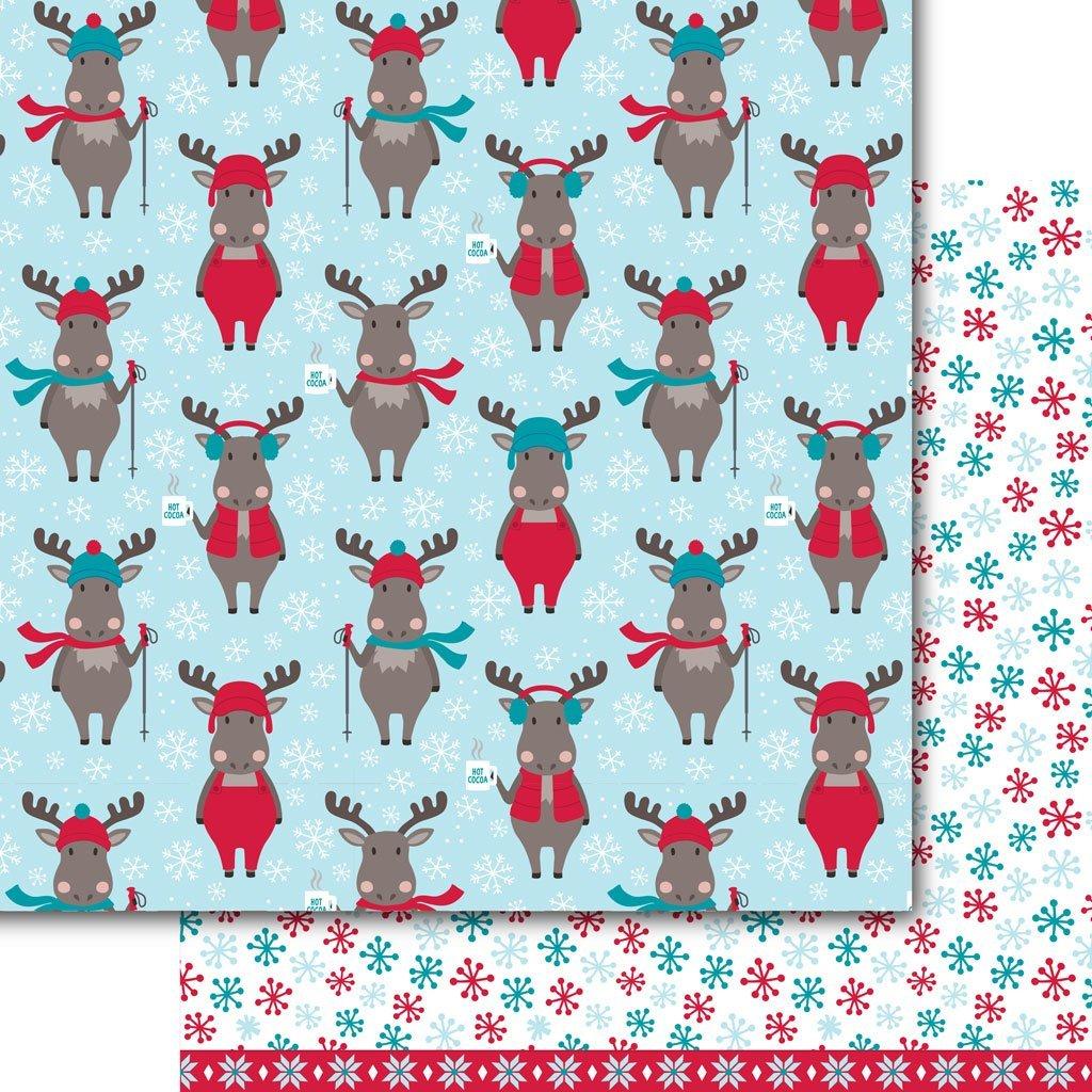 Snow Much Fun -Chocolate Moose