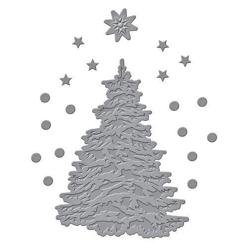 Spellbinders Etched Dies-O' Christmas Tree