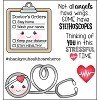 Doctor's Orders Clear Polymer Stamp Set