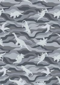 Kimmeridge Bay Grey Dino rock layers on grey