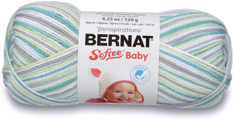 Bernat Softee Baby Yarn - Assorted Colours