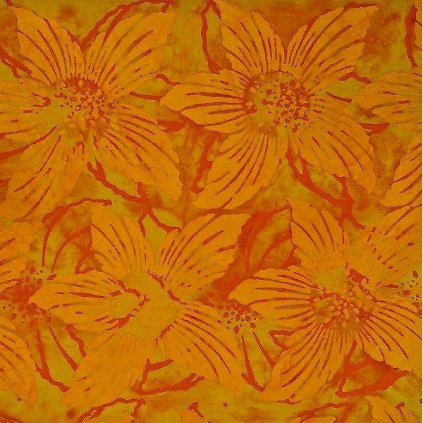 Bazaar Yellowburst Batik by Mirah