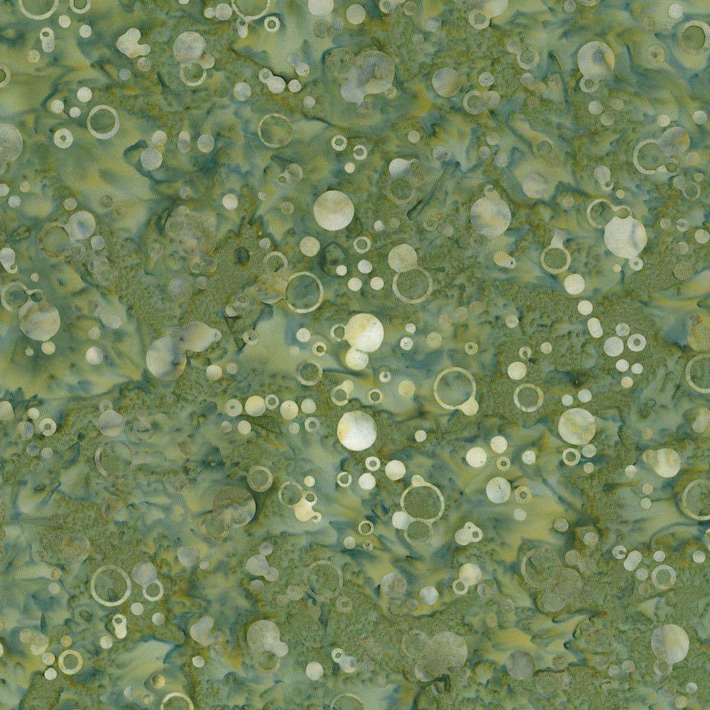 Cantik Batik Bubbles Green Inspirations