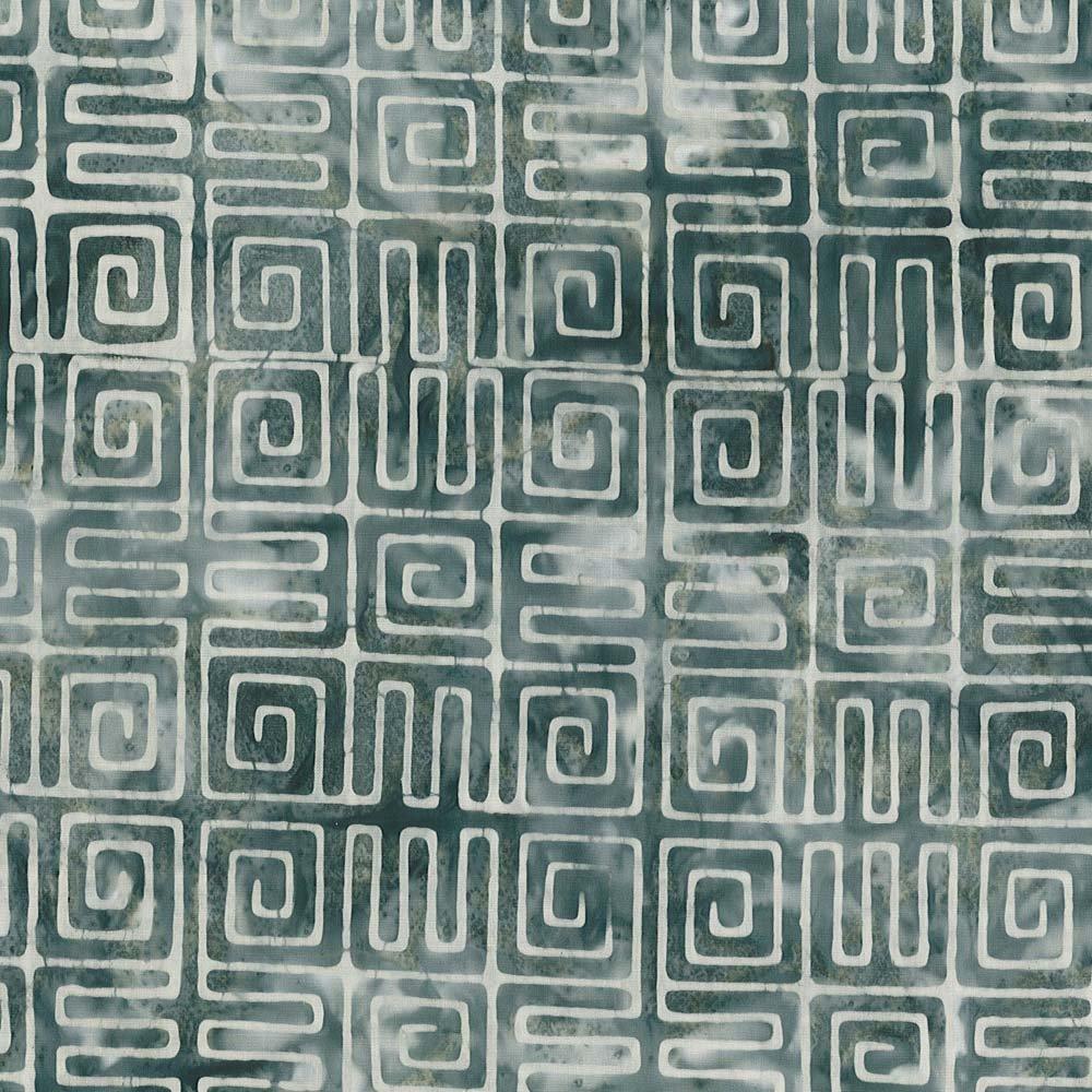 Cantik Batiks - Aztec by Shania Sunga Grey