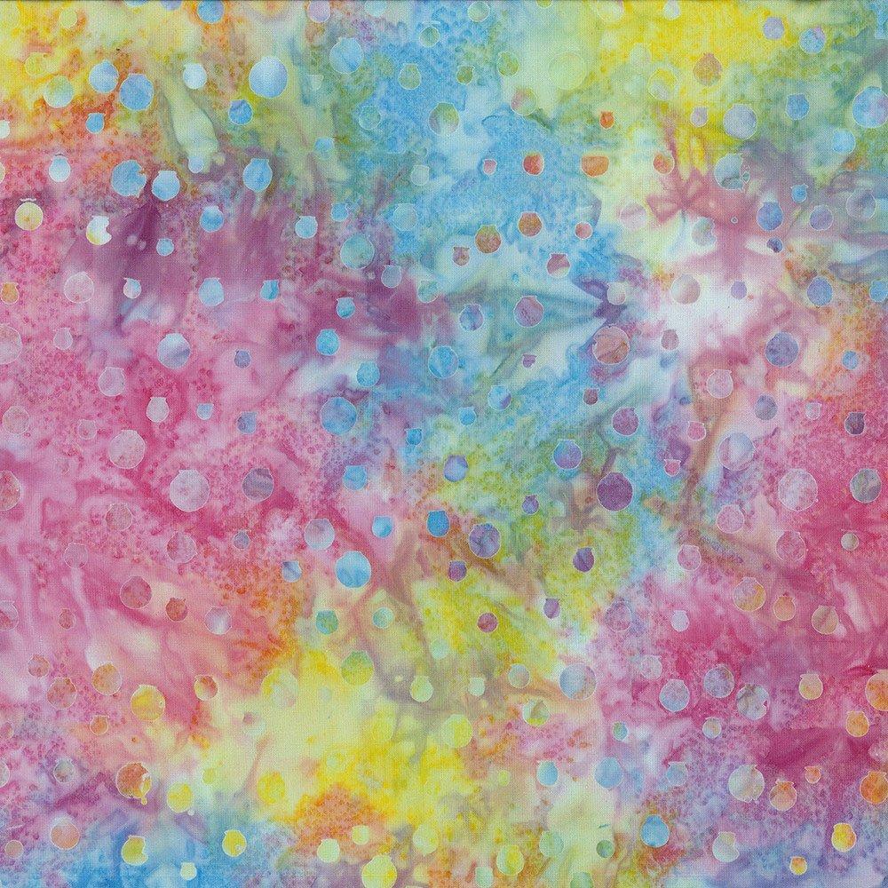 Cantik Batiks Bubbly Pastel Multi