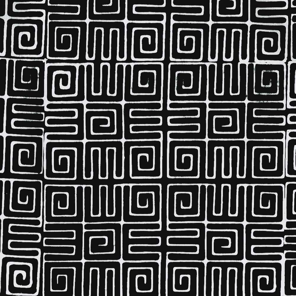 Cantik Batiks - Aztec by Shania Sunga Black