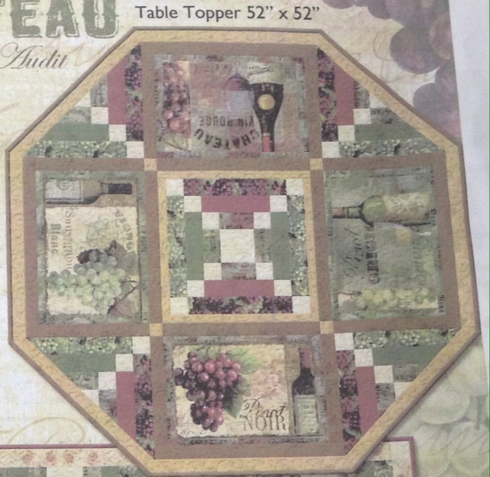 From The Chateau Tabletopper  Kit