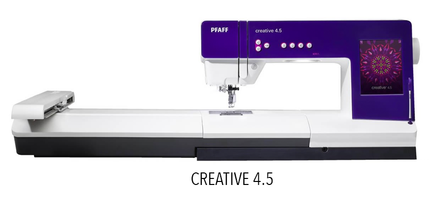 Creative 4.5 - Sewing and Embroidery Machine