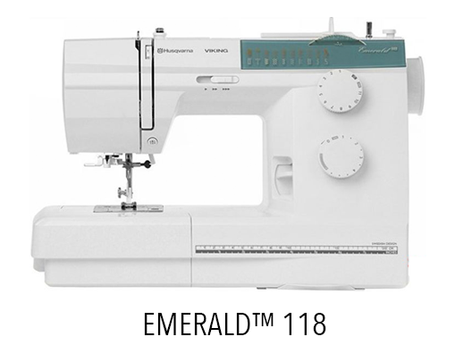 EMERALD 118 - Sewing Machine