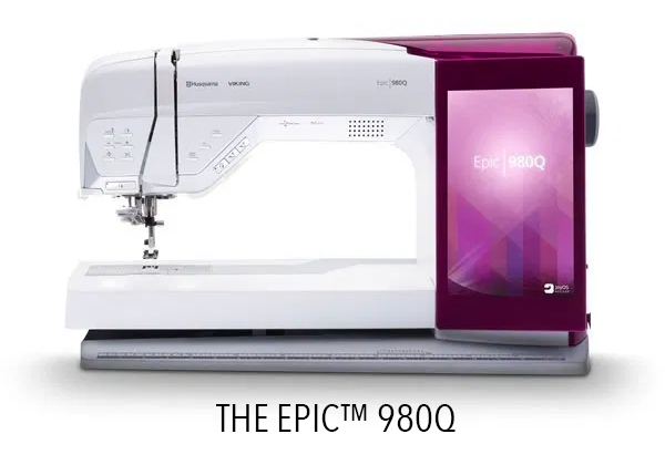 The Epic 980Q - Sewing Machine