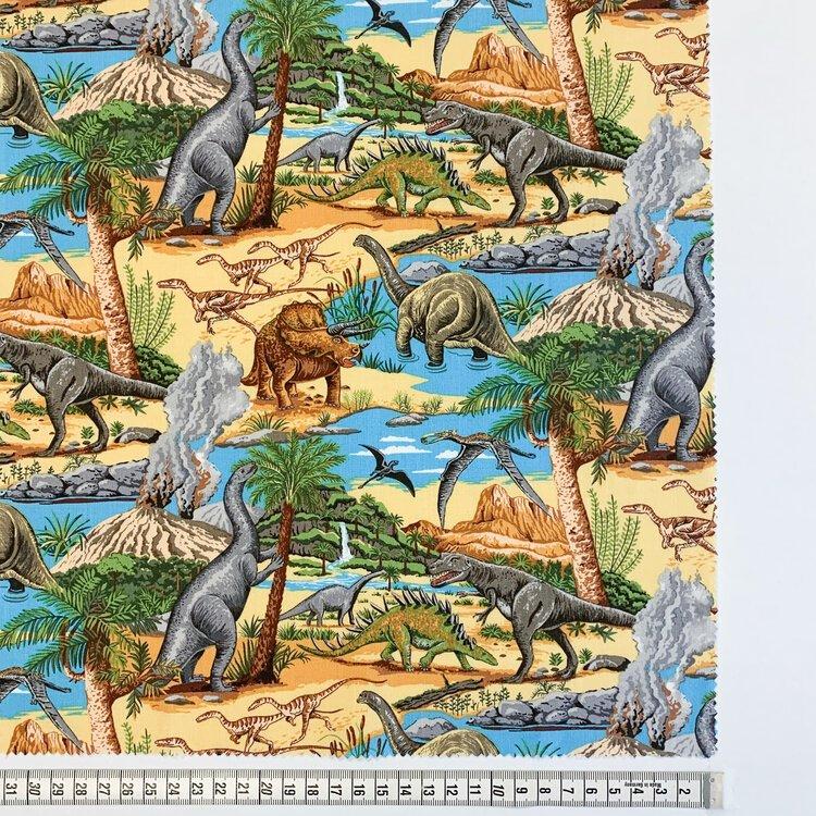 GFL Lost World col-1 Dinosaurs on land scene
