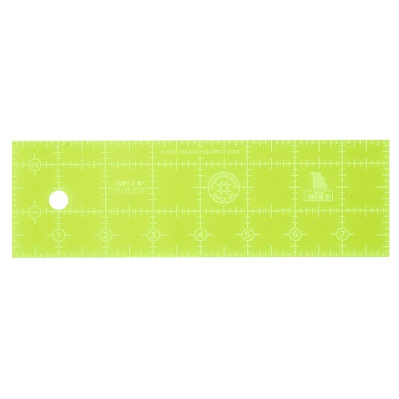 MSQC Ruler 2.5X 8