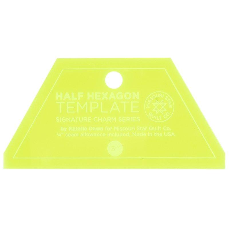 MSQC  Small Half Hexagon 5 inch