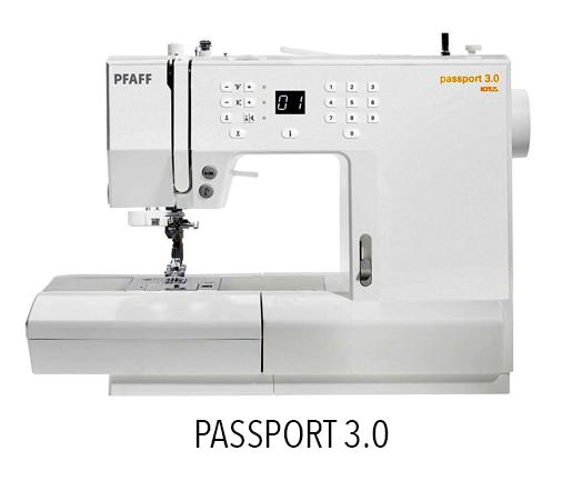Passport 3.0 - Sewing Machine