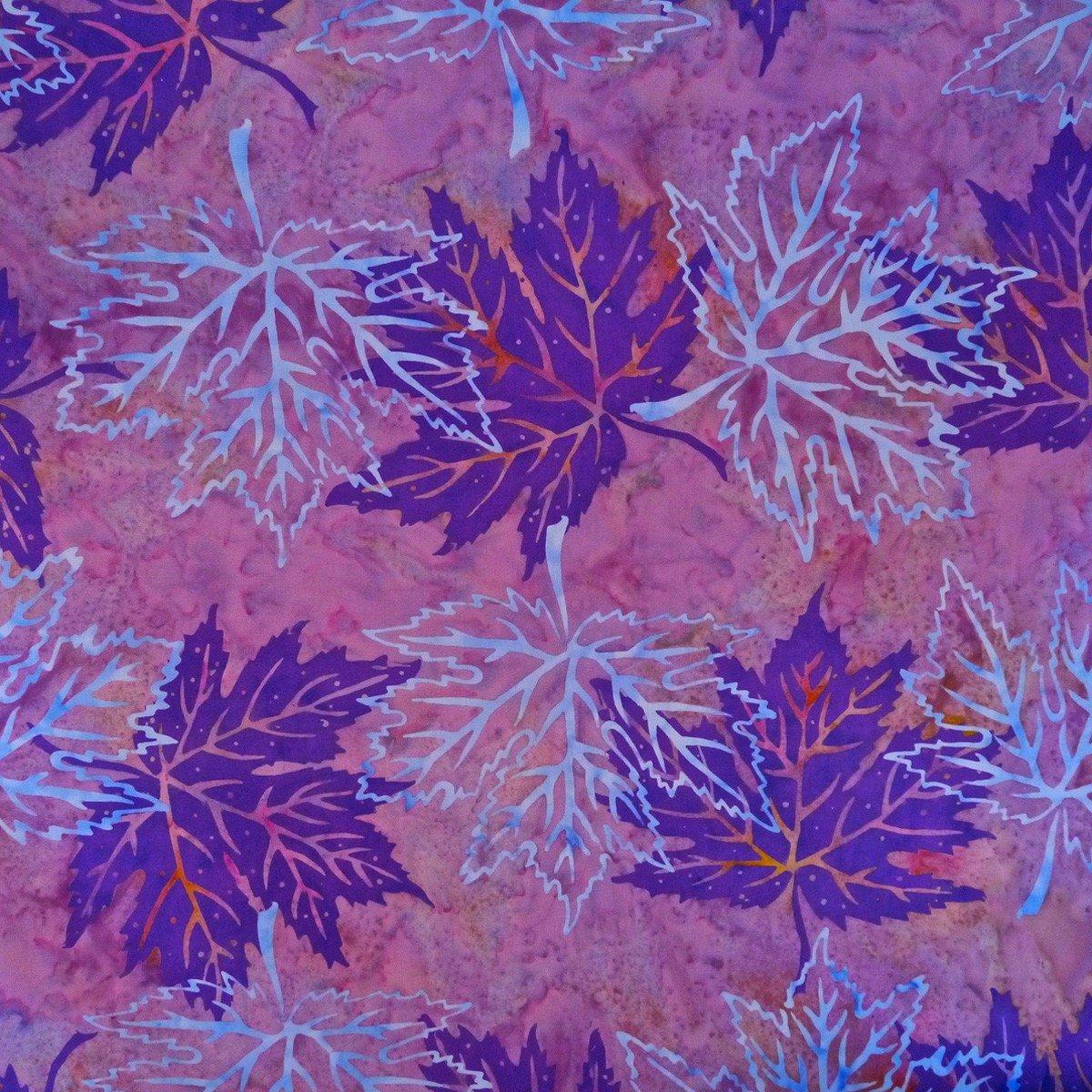 Silhouette Fragrant Lilac Batik by Mirah