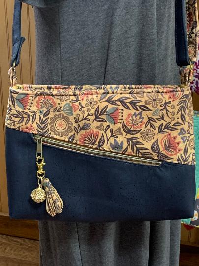 Cork Leather Handbag