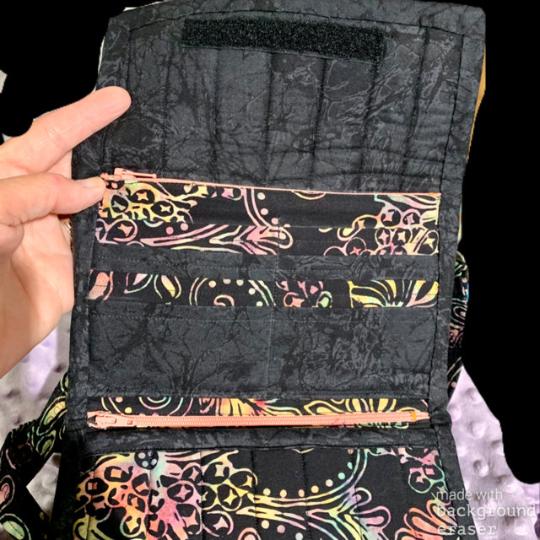 Tri Fold Fabric Wallet