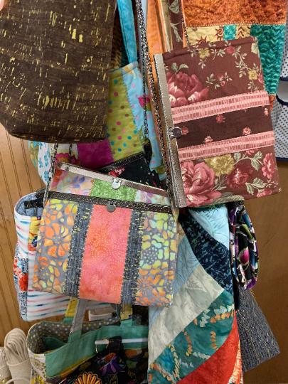 Fabric Clutch Bag