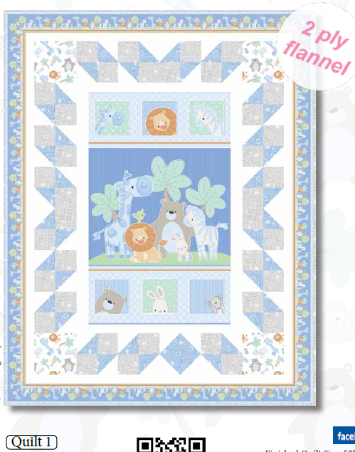 Little Peepers Quilt #1 Kit