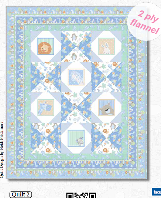 Little Peepers Quilt #2 Kit