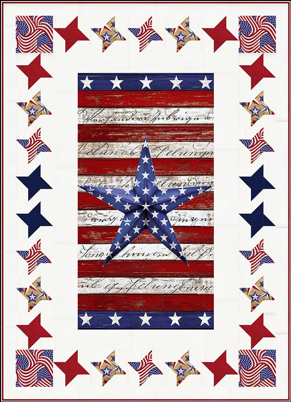 Home of the Brave/Steady Stars Quilt Kit