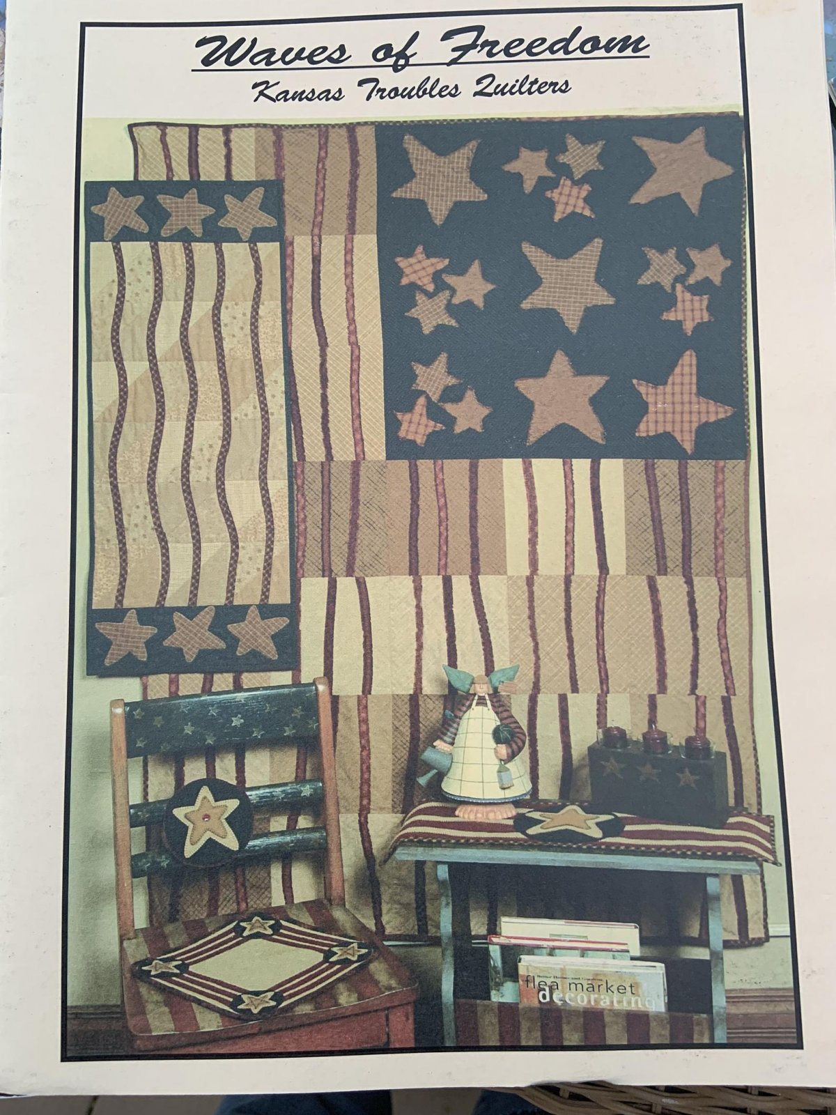 Waves of Freedom Kansas Troubles Quilters