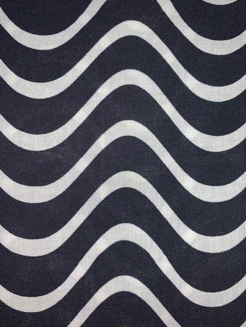 Benartex Black Wave