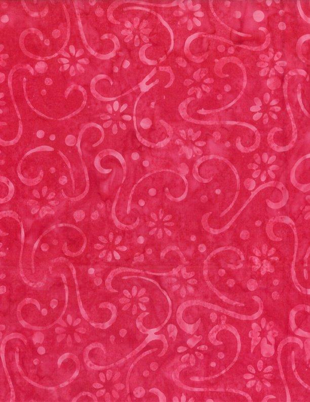 Wilmington 22180-331Hot Pink Scrolls