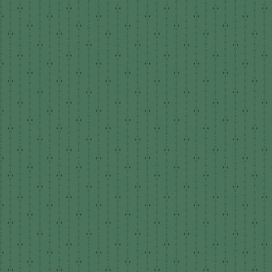 Andover A-9744-G Forest Diamond Stripe