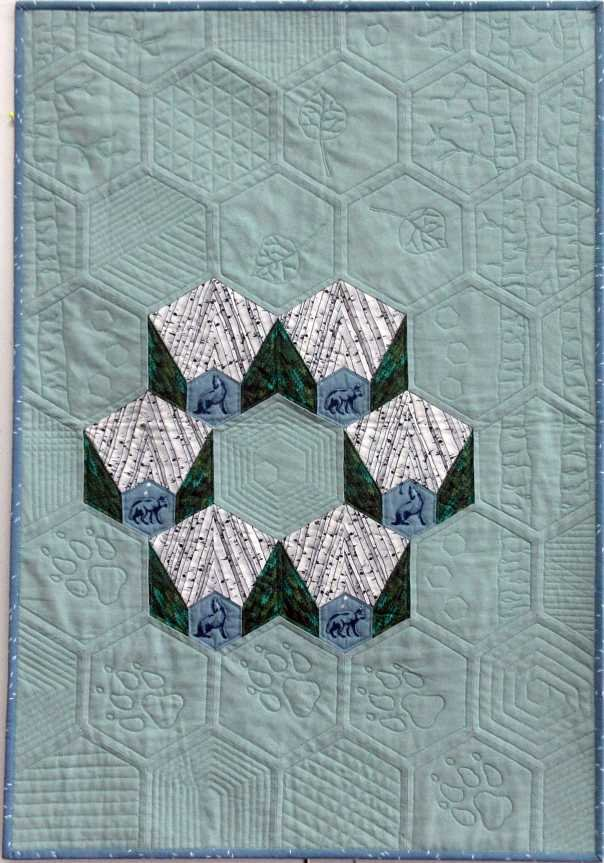 Becky's JD Meets FRQ by Way of BW Quilt
