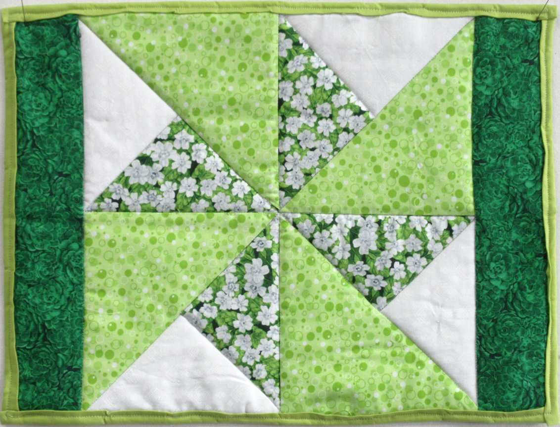 Kaitlin's Spring Green Quilt