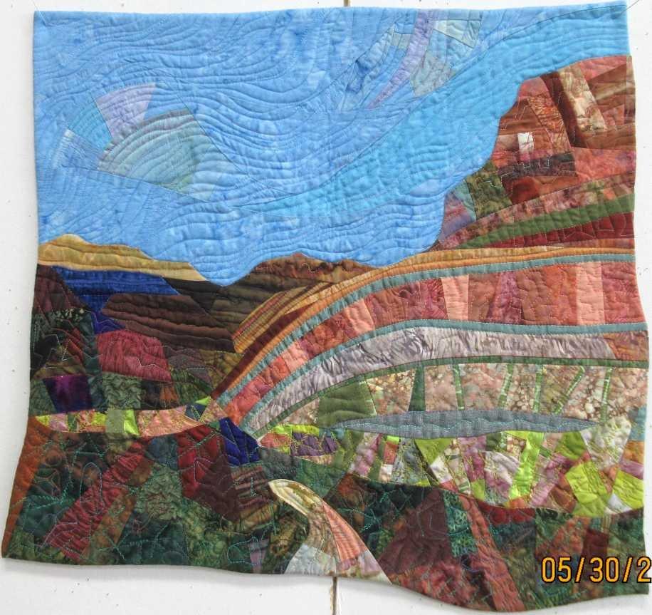 Becky's Wheeler Fold Quilt