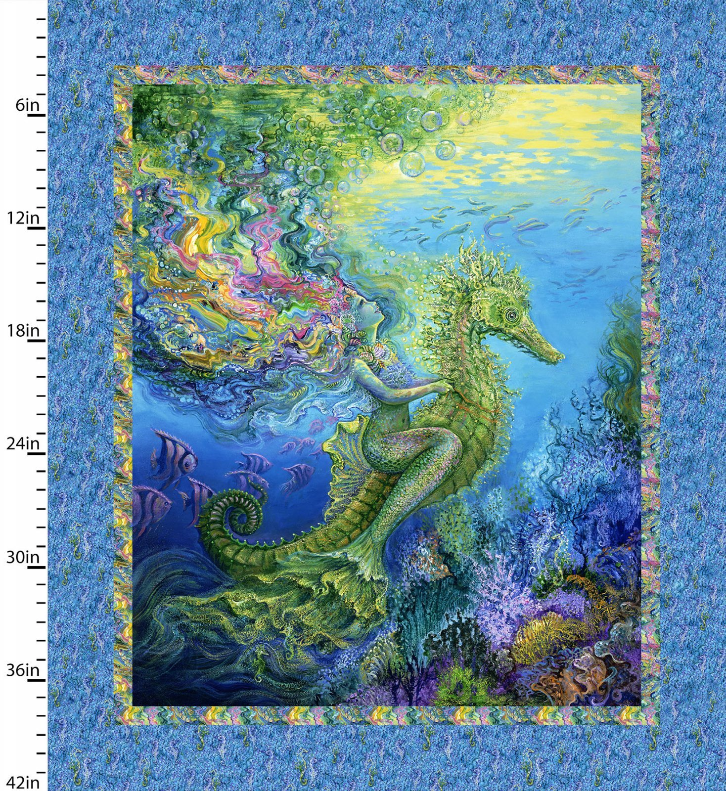 Mermaid Panel 36 x 42