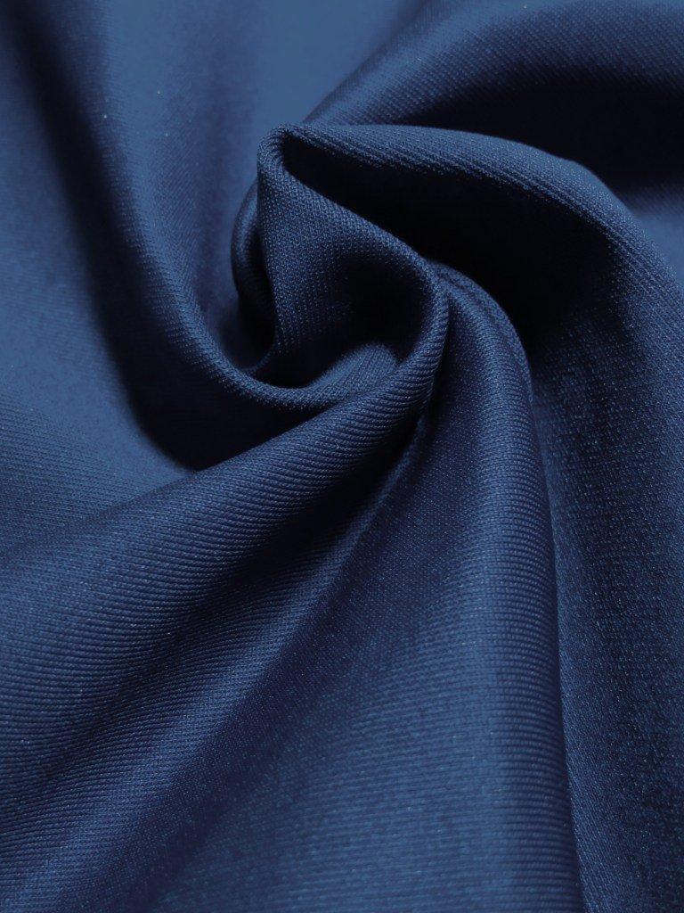 Navy Blue Scuba Knit